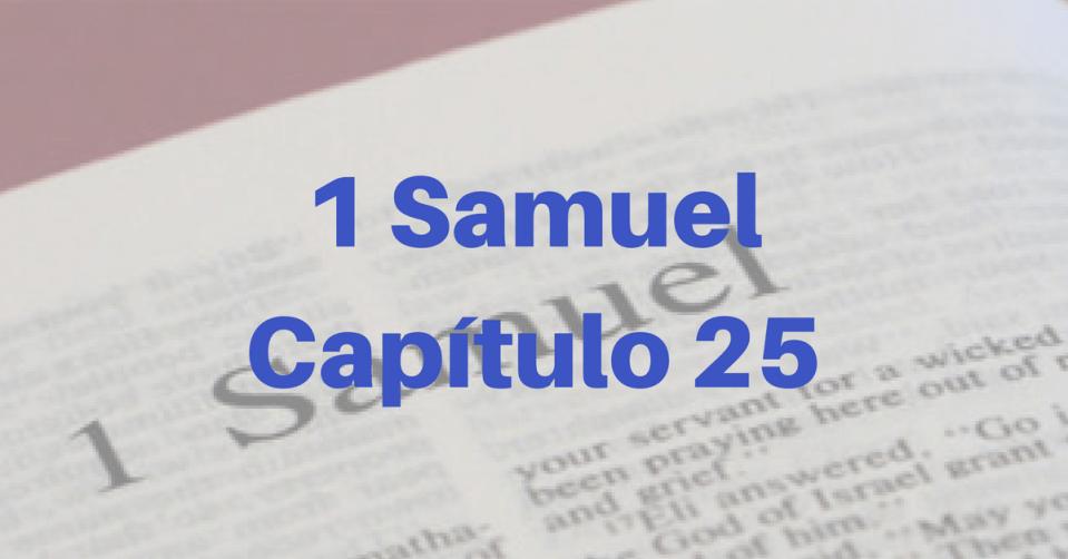 1 Samuel Capítulo 25