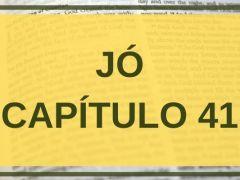 Jó Capítulo 41