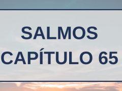 Salmos Capítulo 65