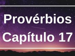 Provérbios Capítulo 17
