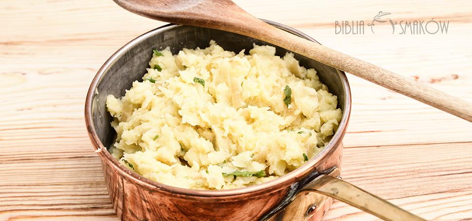 Puree ziemniaczane z cebulką i pietruszką