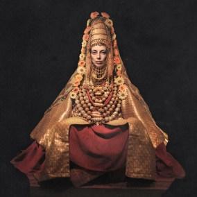 Jewish-Yemenite-Bride-in-Traditional-Dress