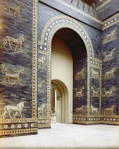 Ishtar Gate from ancient Babylon