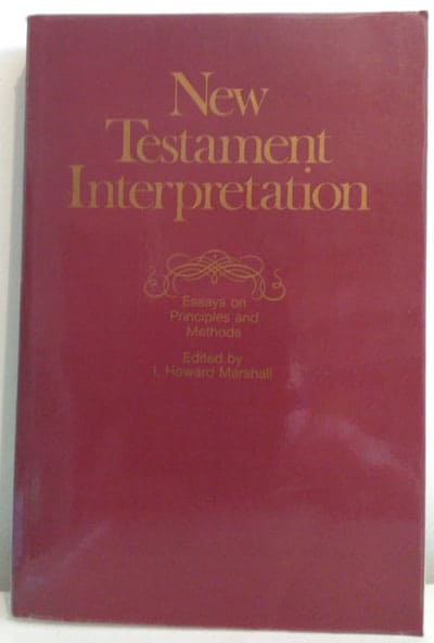 Essays on New Testament Interpretation