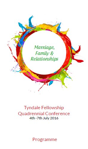 Tyndale Fellowship conference