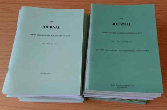 Journal of the United Reformed Church Historical Society