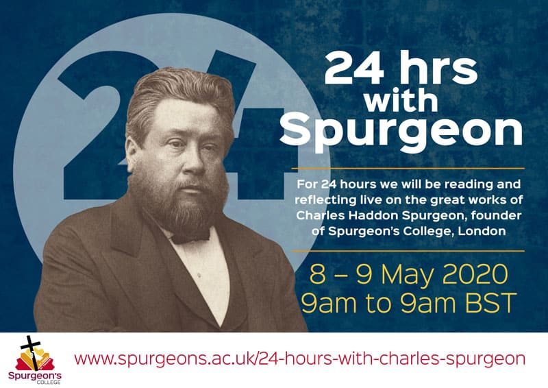 24 Hours with Spurgeon Logo