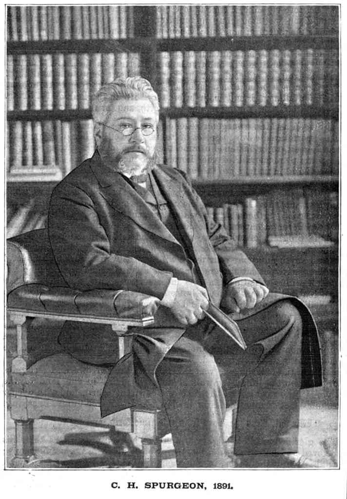 C H Spurgeon in 1891