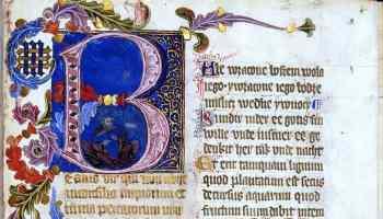 St. Florian's psalter, 14th or 15th century, Polish translation