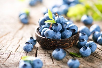 Nourishing blueberries
