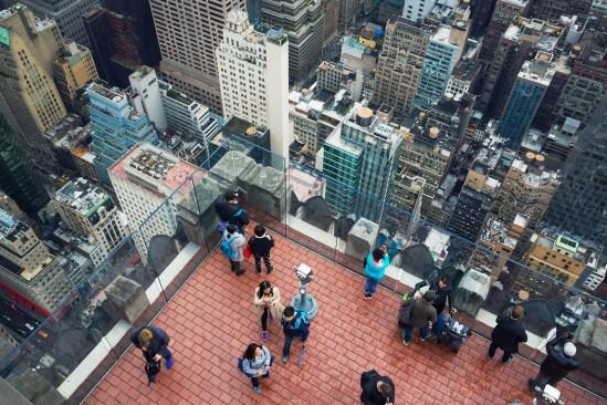 Rockefeller Center Top Of The Rock Observation Deck
