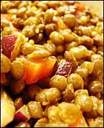 Bibliocook.com - puy lentil salad with balsamic dressing