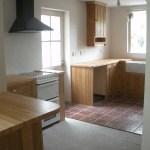 New kitchen taking shape
