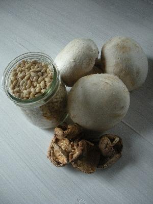Mushroom and Barley Risotto