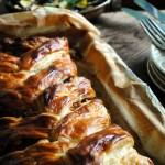 Garden gluts: Sausagemeat, Courgette and Apple Plait