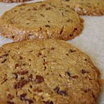 Sweet treats for work: Chocolate Buckwheat Cookies