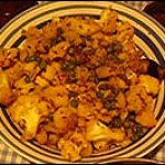 An Indian Feast, finished: Cauliflower with Roasted Cumin