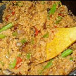 One-pan dinners: Pan Couscous with Chorizo and Green Beans