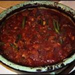 Moroccan meals: Lamb Tagine