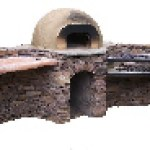 Outdoor oven building