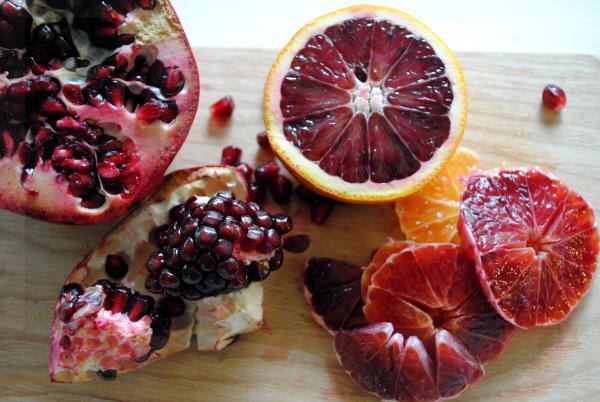 Bibliocook.com - Blood Orange, Pomegranate