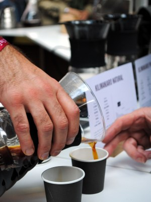 Square Mile Roasters at Dublin Coffee and Tea Festival 2014