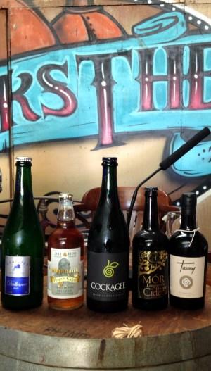 Bibliocook.com - Ballymaloe Litfest 2016 - Pete Brown, Leslie Williams, Caroline Hennessy - Irish Cider Tasting
