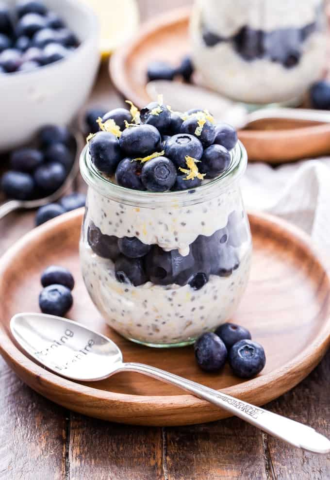 Recipe Runner BLUEBERRY LEMON OVERNIGHT OATS