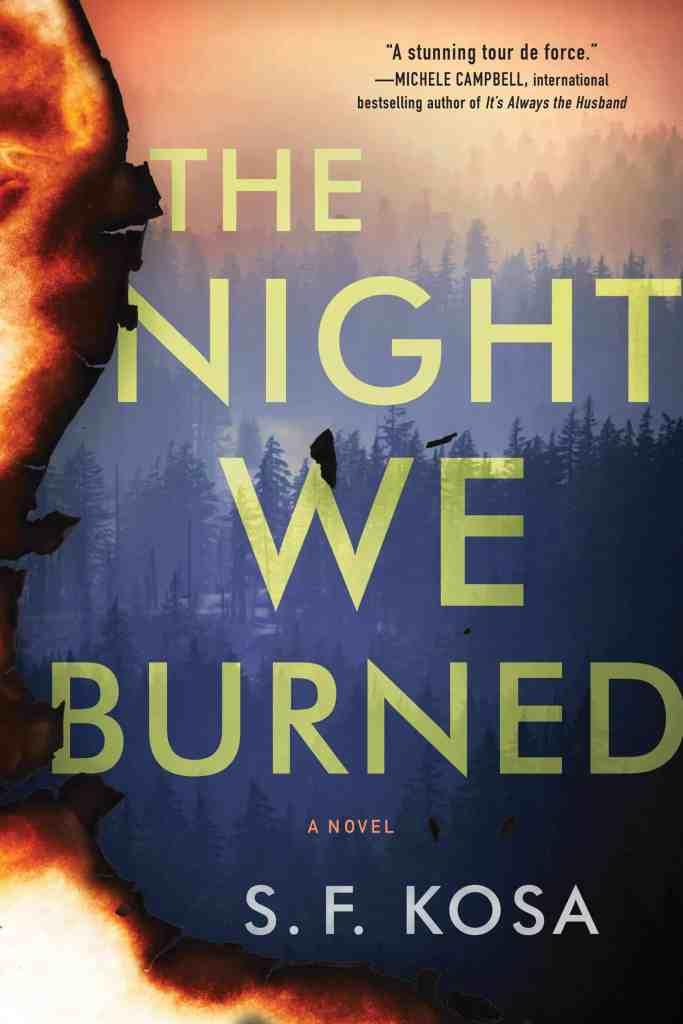 The Night We Burned:A Novel S. F. Kosa