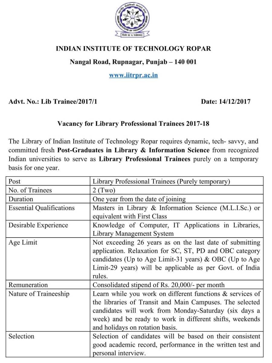 Library Trainee Advt.IIT Ropar-1.jpg