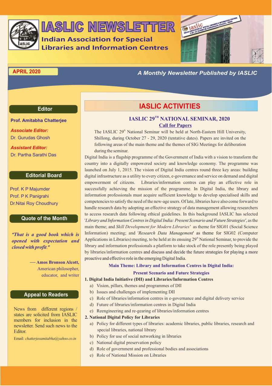 IASLIC Newsletter April 2020-1