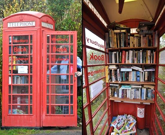 Pronto bookcrossing biblioragazzi for Cabina telefonica inglese arredamento