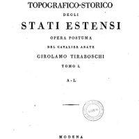 Dizionario topografico-storico degli stati estensi: cartaceo & online