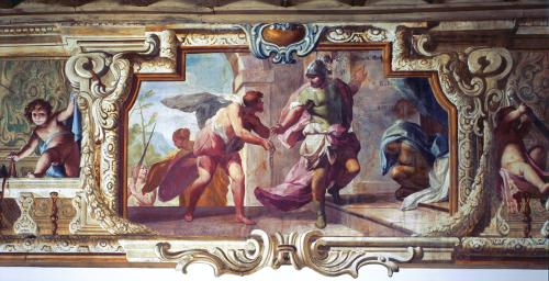 Affreschi di Villa Besozzi Casati