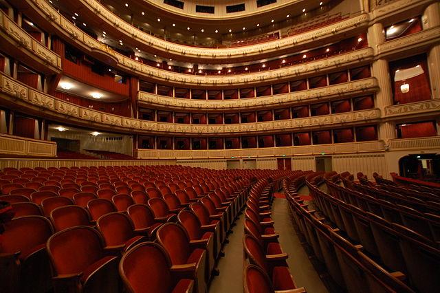 Interior de la Ópera de Viena