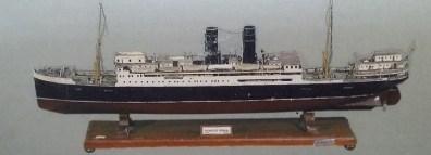 Maqueta del barco Marqués de Comillas