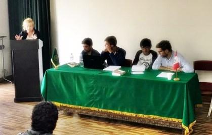 Charla coloquio en la Universidad San Antonio Abad de Cusco