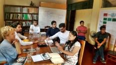 Reunión con la Asociación CARE en la Central Asháninka del río Ene.