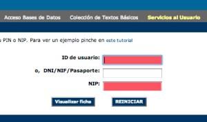 ID y NIP