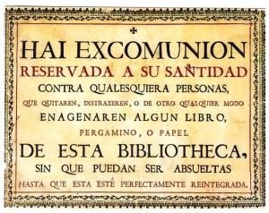 Cédula de Excomunión