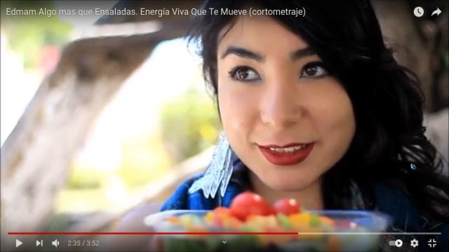 :: Algo mas que Ensaladas. Energía Viva Que Te Mueve (cortometraje) ::