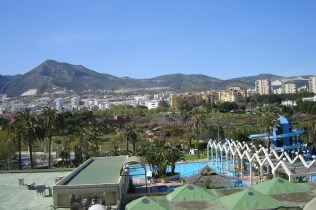 Parque de la Paloma desde Apartamentos Benalbeach