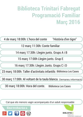 març 2016 infants