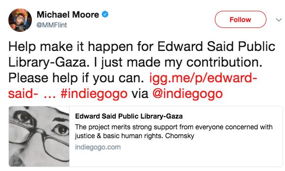 moore bibliotek gaza