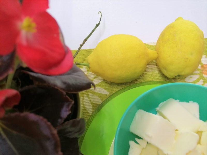 ingredienti biscotti al limone
