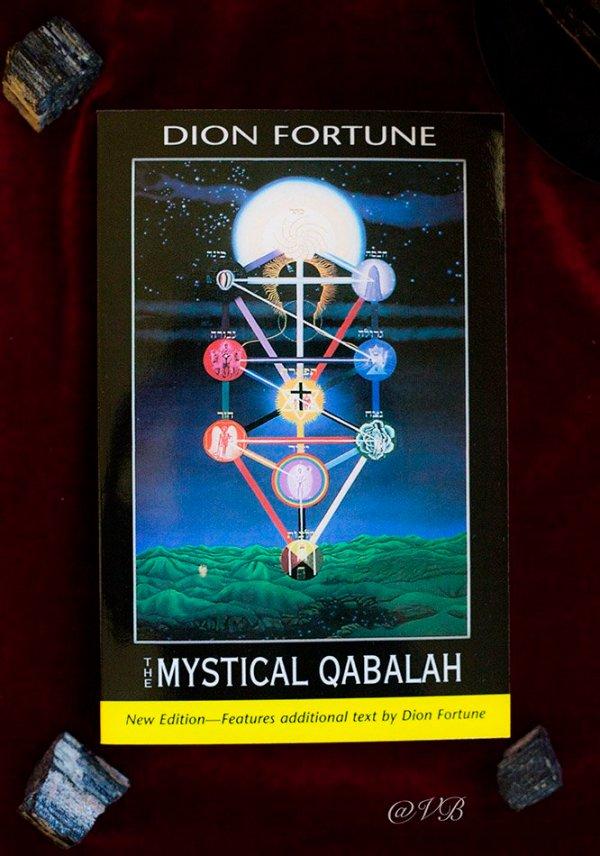 Mystical Qabalah Cover