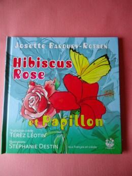 Album - Hibiscus Rose et Papillon