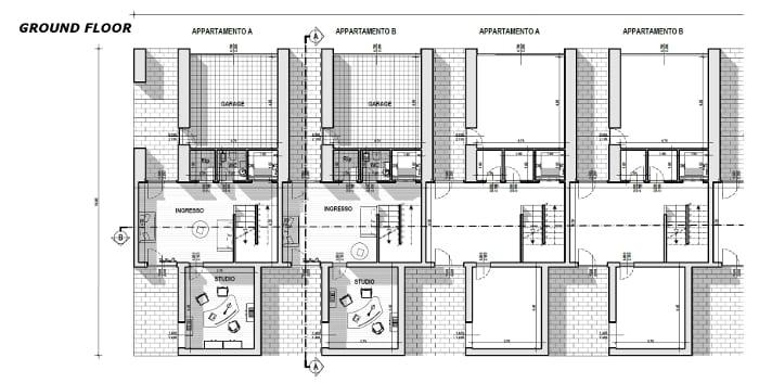 Casas Geminadas Contempor 226 Neas De Arquitetos Famosos O
