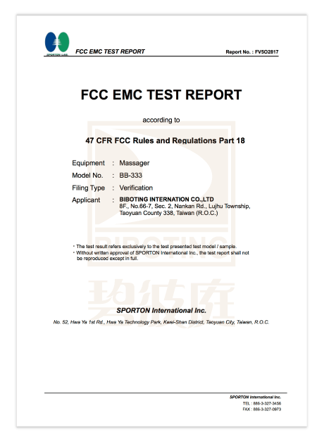 US FCC International Certification
