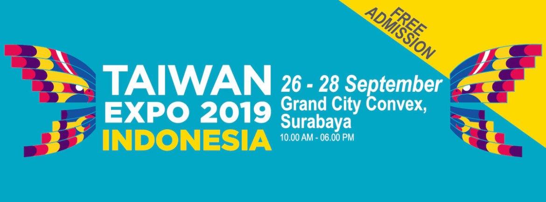 2019印尼台灣形象展海報